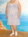 Сорочка (Срч02-06) сиреневые цветы (Smart-Woman, Россия) — размеры 60/62, 64/66, 68/70, 72/74