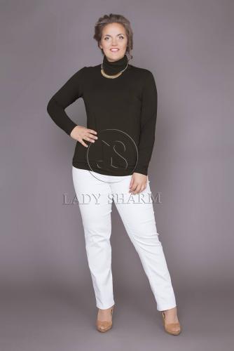 Блузка (D-266-49/2) черный (Леди Шарм, Санкт-Петербург) — размеры 60, 62